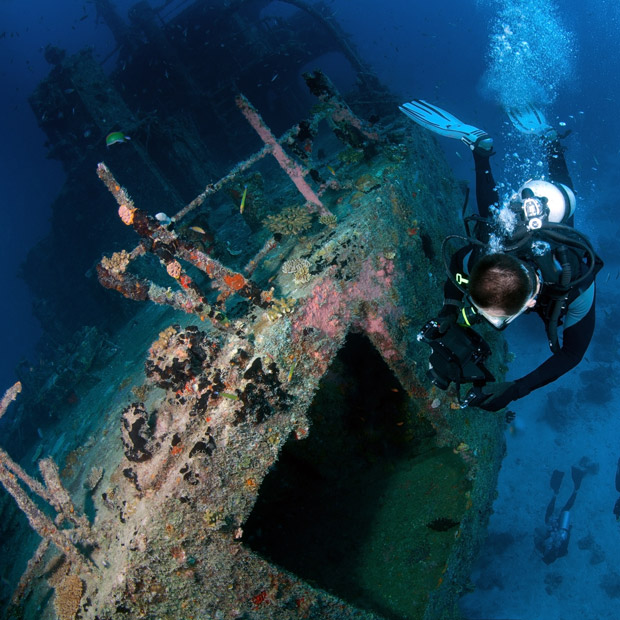 Luxury diving holidays dive worldwide for Luxury holidays worldwide