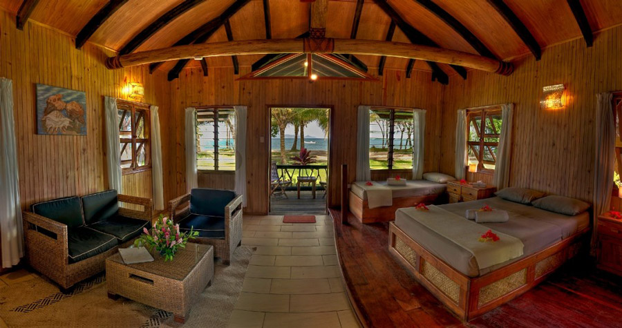 Uprising Beach Resort Holiday Accommodation In Fiji South Pacific Dive Worldwide
