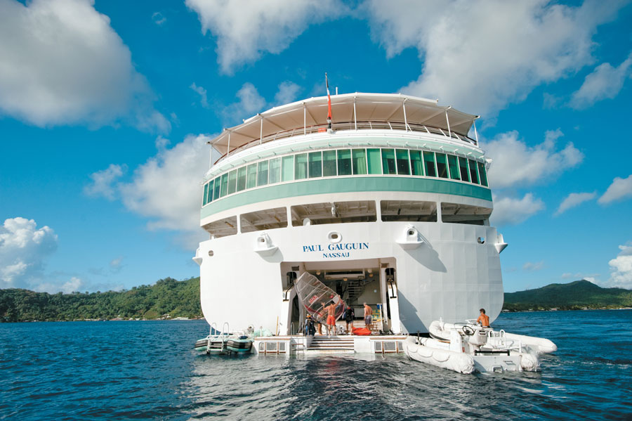 Paul Gauguin Cruise Tahiti Diving Holiday South Pacific Group Tour Dive Worldwide