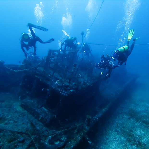 Singles Diving Holidays | Dive Worldwide
