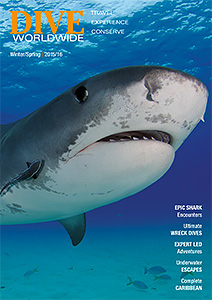 Latest Dive Worldwide brochure cover
