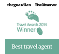 Guardian and Observer best travel agent 2014